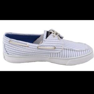 Bahama Blue Sherry Top-Sider Boat Shoes, NWT